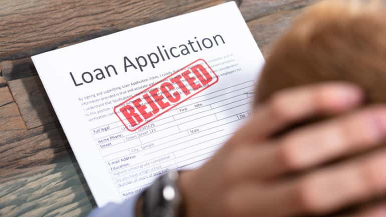small business loan rejection by banks